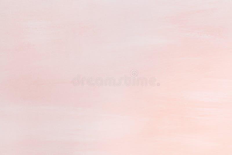 Drewniana deska malował w koralowym kolorze - tło, tekstura zdjęcia stock