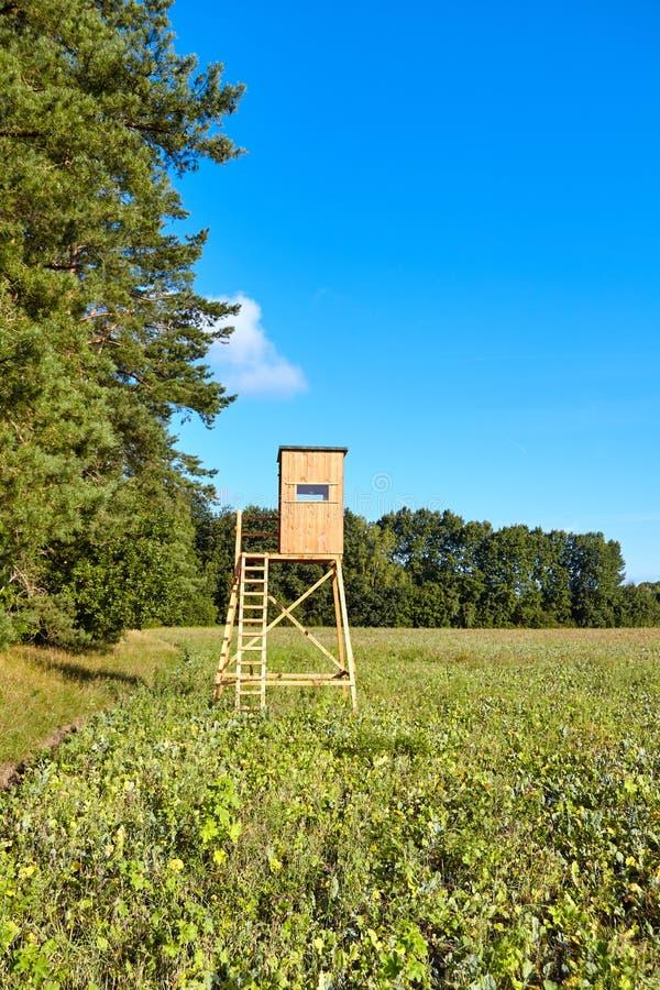Drewniana jelenia polowanie stora zdjęcia royalty free