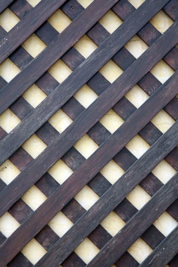 drewniana kratownica zdjęcie stock
