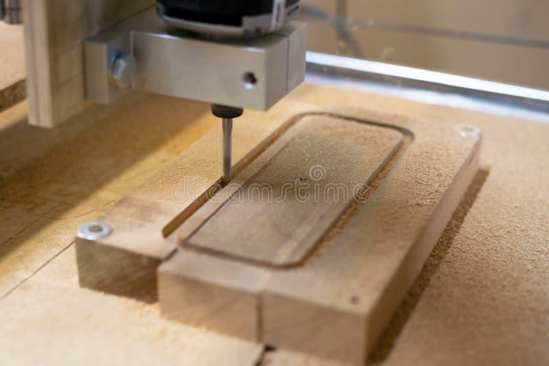 Drewniana mielenie maszyna obrazy stock