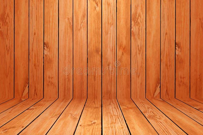 Drewniana podłoga textured deseniowego tło w jasnobrązowym koloru brzmieniu obrazy stock