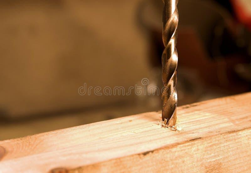 drewniana pracy fotografia stock