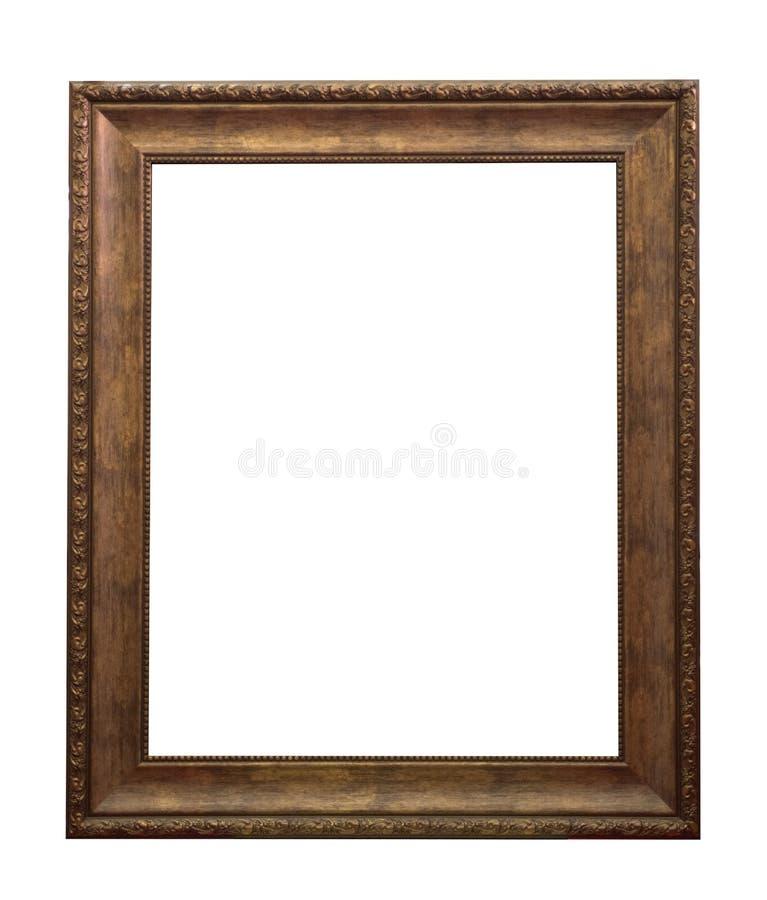 Drewniana rama obrazy stock