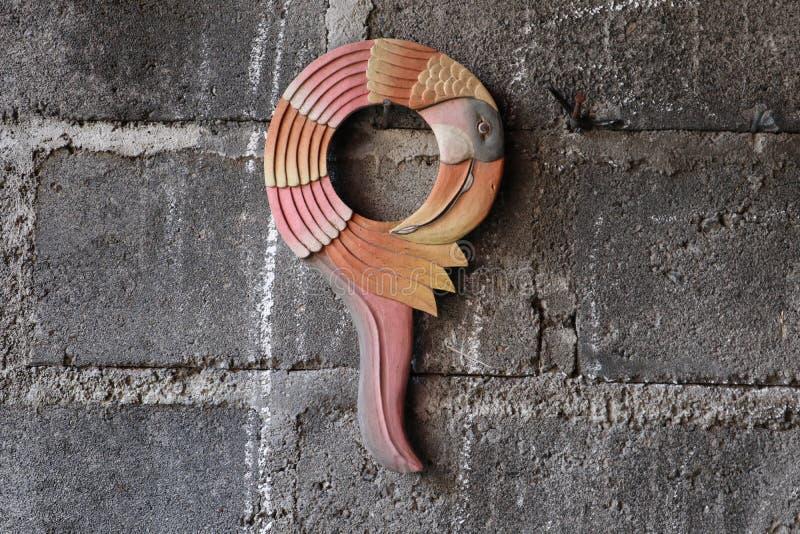 Drewniana rzeźbiąca rama fotografia stock