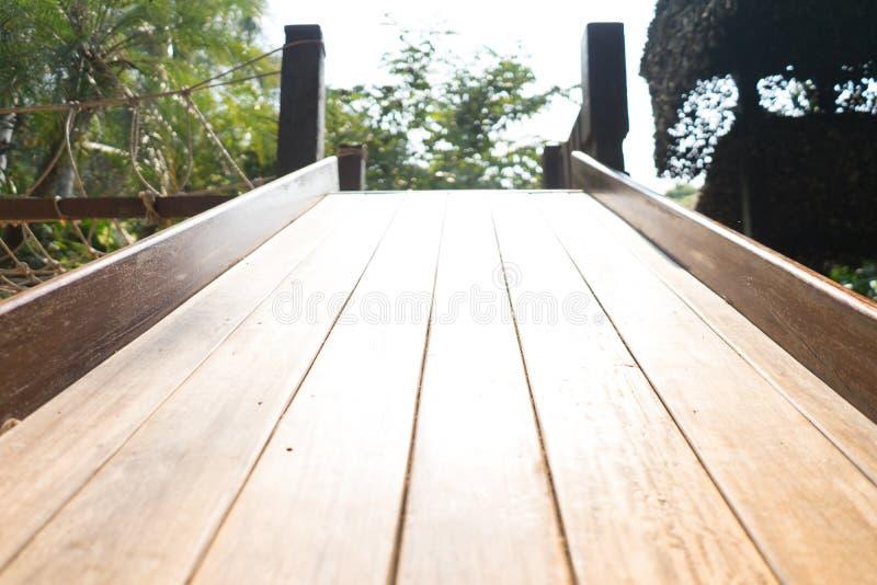 Drewniana suwak zabawka zdjęcie stock