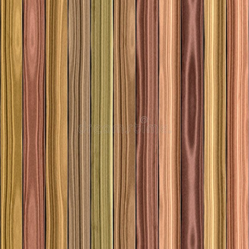 Drewniana tekstura bezszwowa fotografia royalty free