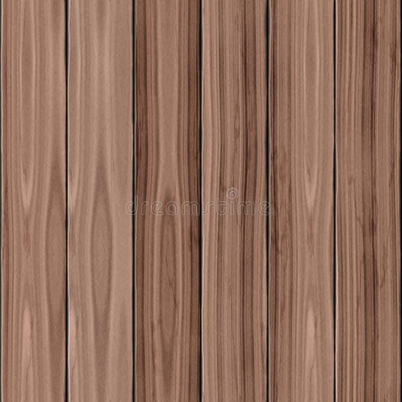 Drewniana tekstura bezszwowa fotografia stock