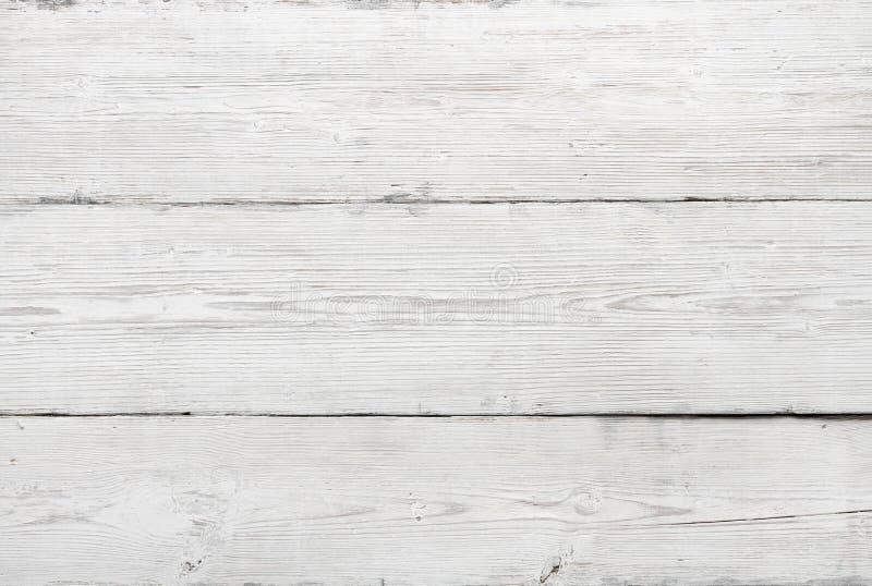 Drewniana tekstura, biały drewniany tło obrazy royalty free