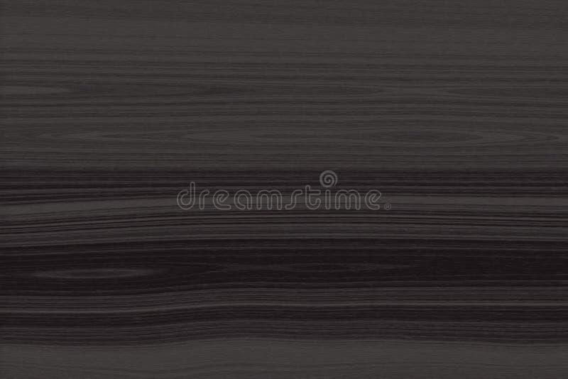 Drewniana tekstura, ciemnego brązu drewniany tło, deskowy szorstki ilustracja wektor