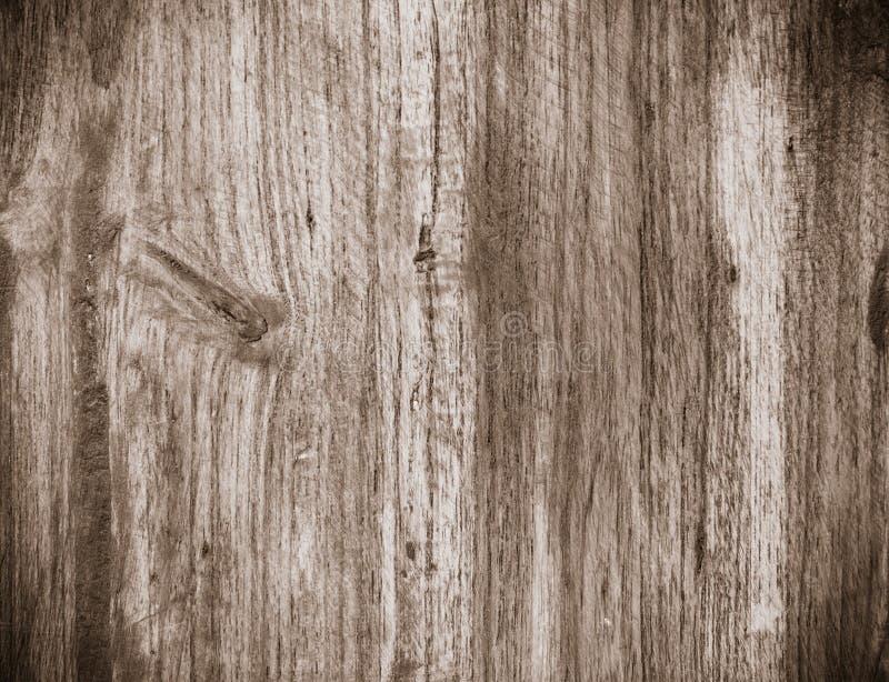 Drewniana tekstura - drewno zbożowa Monochromatic winieta fotografia stock