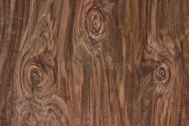 Drewniana tekstura, naturalnego ciemnego brązu rocznika drewniany tło obrazy royalty free