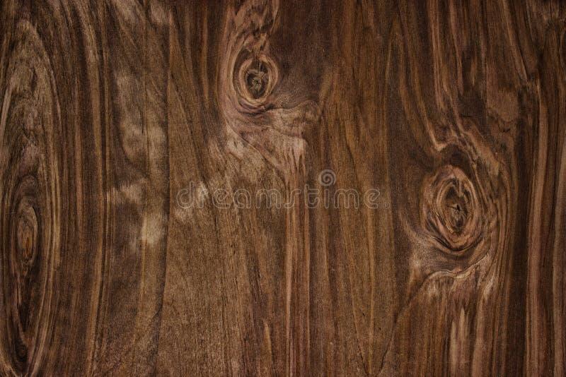 Drewniana tekstura, naturalnego ciemnego brązu rocznika drewniany tło obraz stock