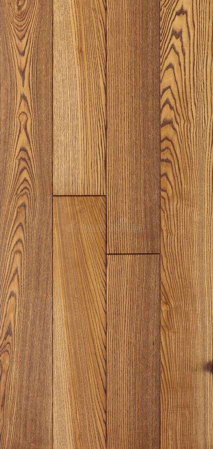 Drewniana tekstura podłoga, popiół parkietowy zdjęcie royalty free