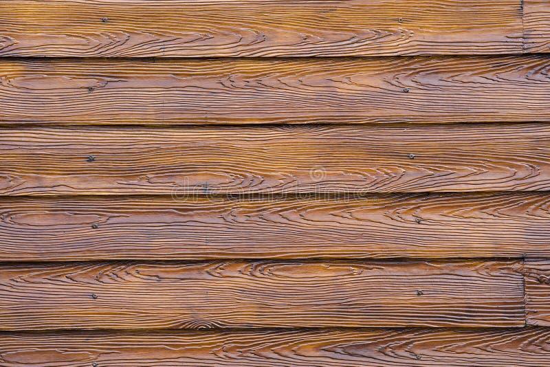 Drewniana tekstura tło kasetonuje deski farby lakę zdjęcia royalty free
