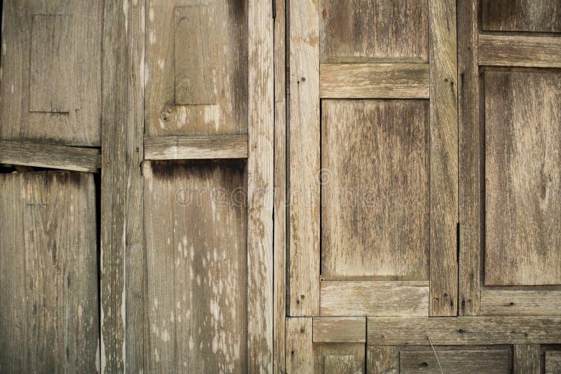 Drewniana tekstura tło stary drewniany dom zdjęcia royalty free