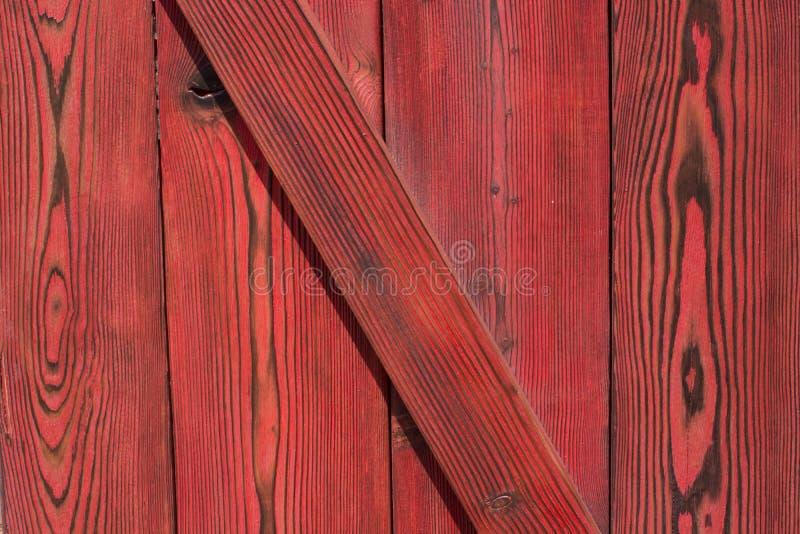 Drewniana tekstura T?o Czerwony kolor Nadokienne story Nadokienne story Południowa Domowa architektura obraz stock