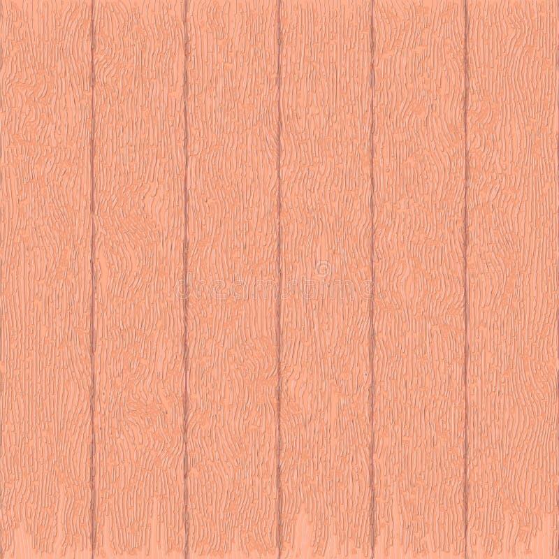 Drewniana tekstura, wektorowa Eps10 ilustracja dąb Realistyczny zaszalować ilustracja wektor