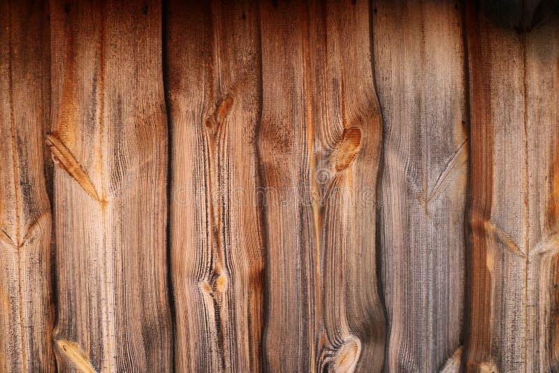 Drewniana tekstura Wykładać deski ścianę zdjęcia royalty free