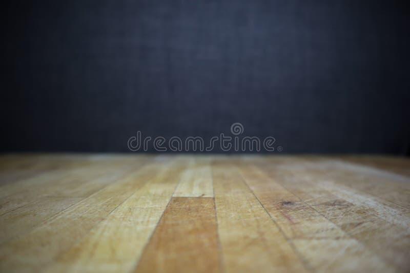 Drewniana tekstury naturalnego tła stołu powierzchnia dla odbitkowego teksta lub projekta obraz royalty free
