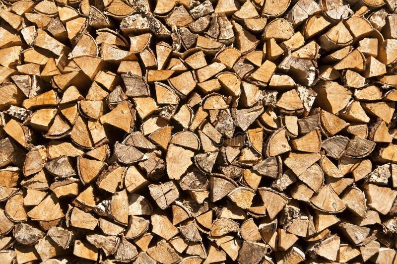 Drewniane bele zdjęcie royalty free