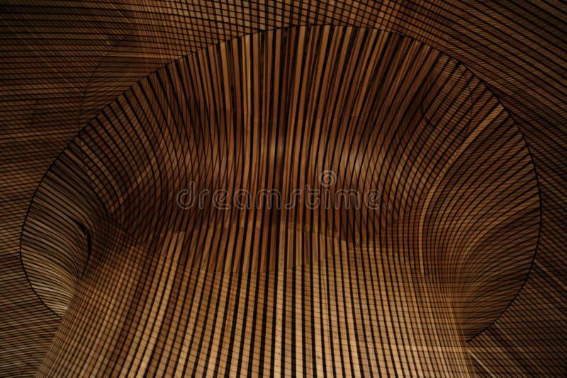 drewniane dach obrazy stock