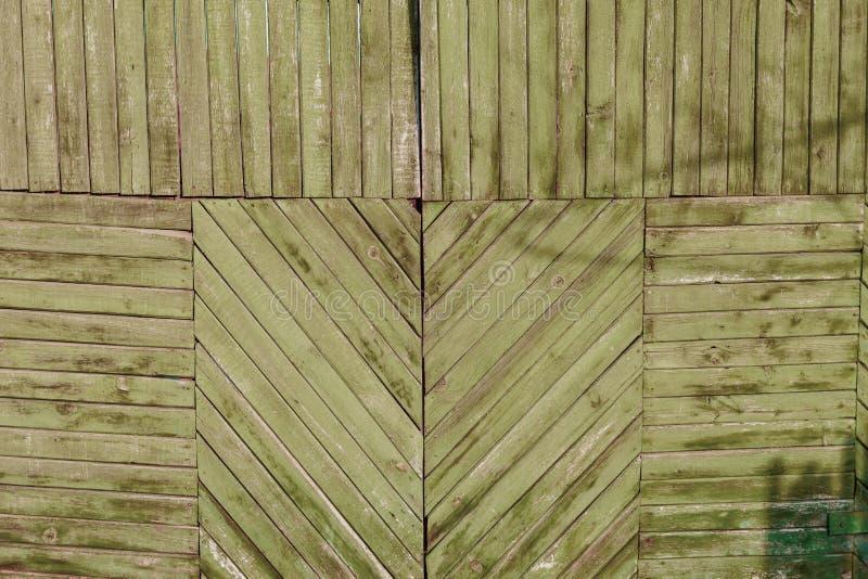 Drewniane deski diagonally jako tło zdjęcia royalty free