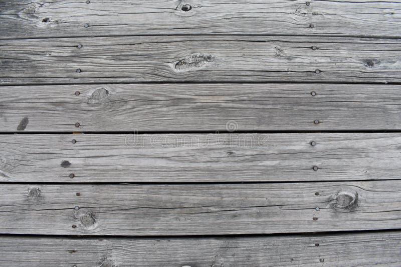 Drewniane deski dok zdjęcie royalty free