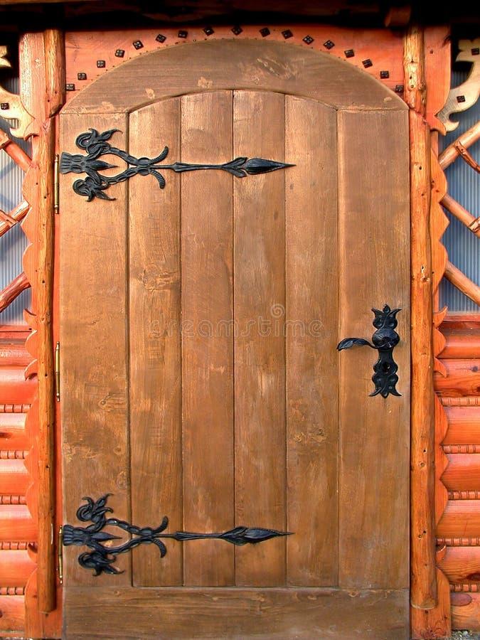 drewniane drzwi obrazy royalty free