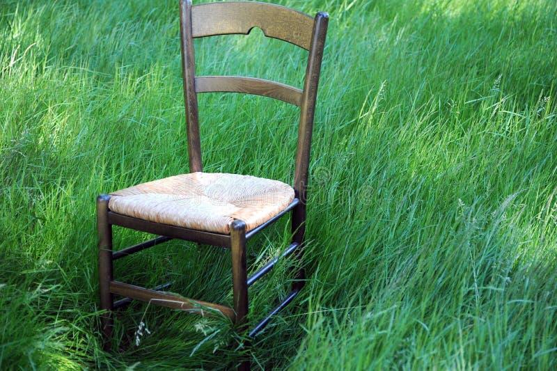 Drewniane krzesło fotografia stock