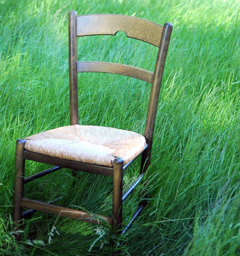 Drewniane krzesło zdjęcie royalty free