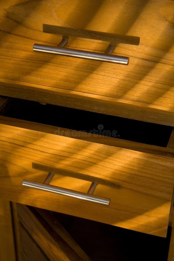 drewniane meble obraz stock