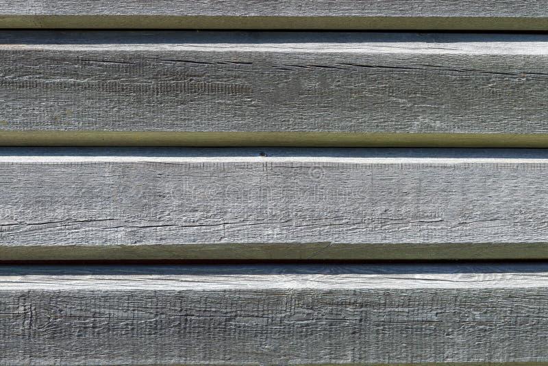Drewniane stare szare horyzontalne deski abstrakcyjny t?o zdjęcia royalty free