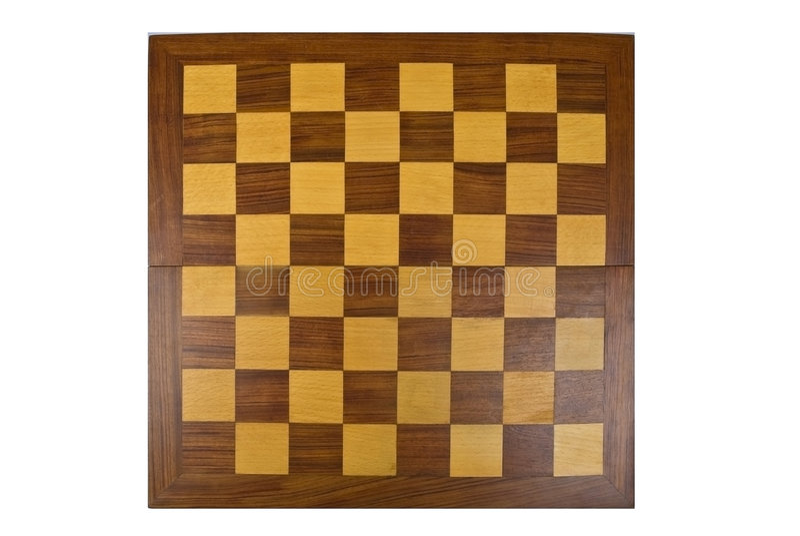 drewniane szachownica zdjęcie stock