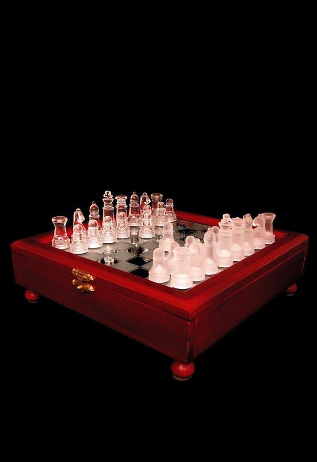 drewniane szachy mieszkanie lustro obrazy royalty free
