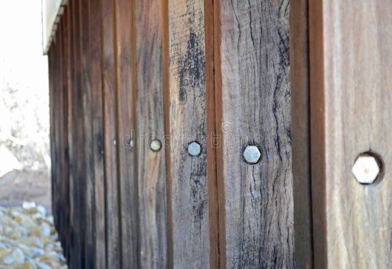 drewniane szermierczy zdjęcie stock