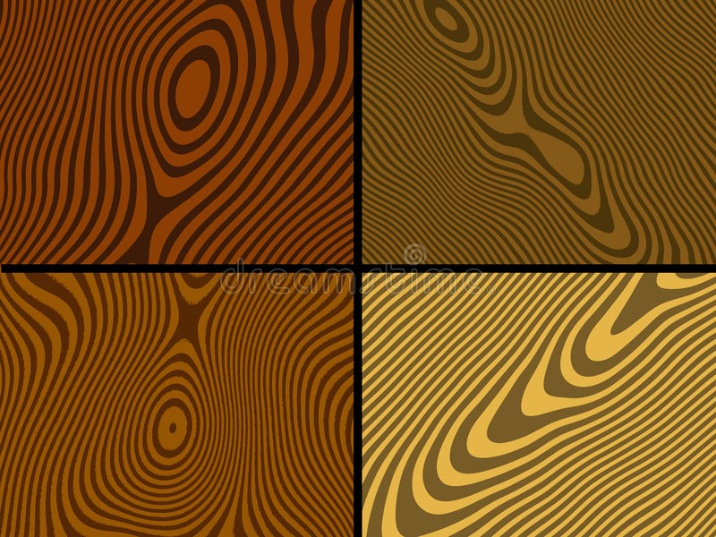 drewniane tekstury ilustracja wektor