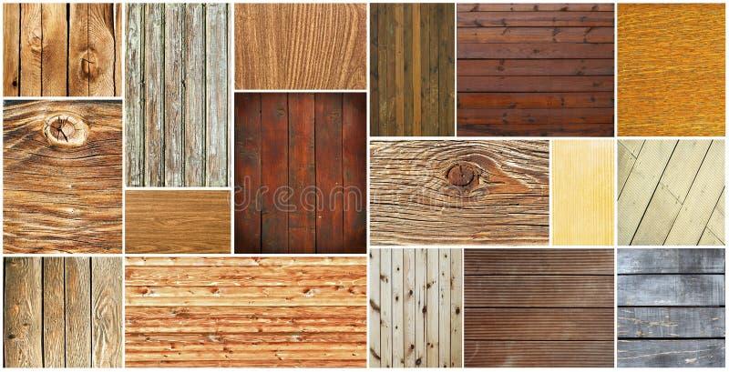 Drewniane tekstury inkasowe zdjęcie royalty free