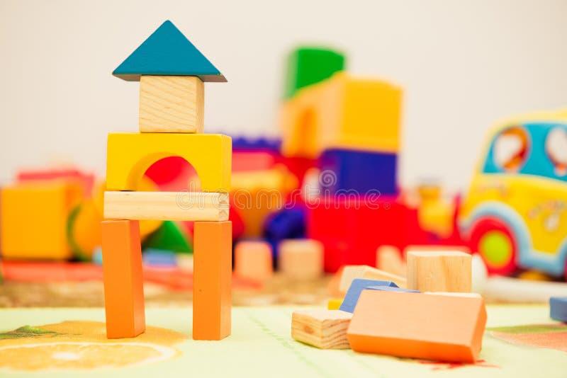 Drewniane zabawki zdjęcie royalty free