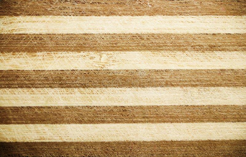 Drewnianego brązu pasiasty tło zdjęcia royalty free