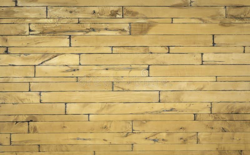 Drewnianego panelu horyzontalny wzór fotografia royalty free