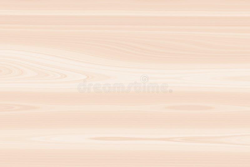Drewnianego tła jasnobrązowy drewniany, podłogi ściana royalty ilustracja