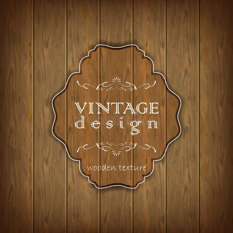 Download Drewnianego Tekstura Rocznika Karciany Projekt, Ilustracja Ilustracja Wektor - Ilustracja złożonej z element, dekoracje: 53793110