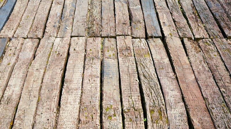 Drewnianej deski drewniana deska zdjęcie stock