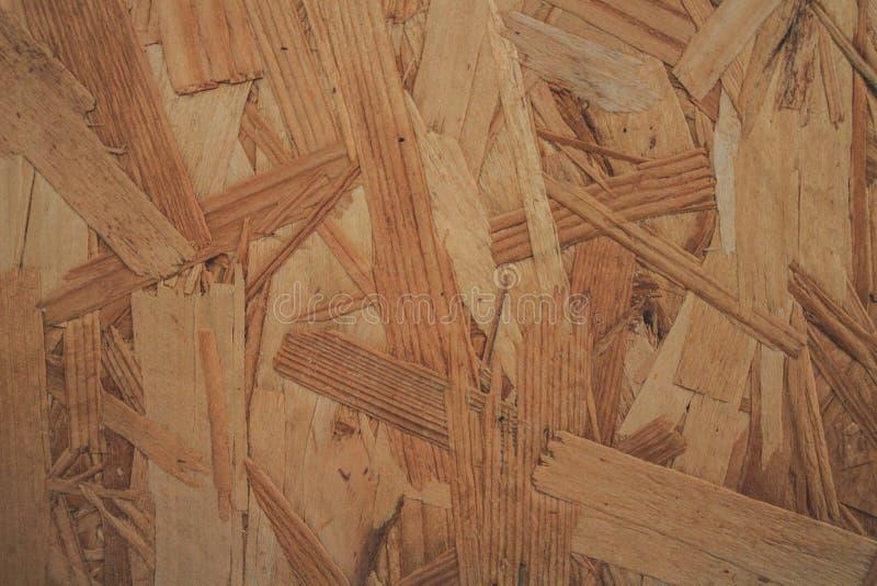 Drewnianej deski naciskający kawałki tekstura obrazy royalty free
