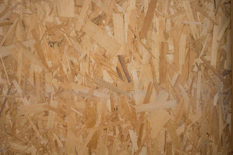 Drewnianej deski naciskający kawałki tekstura obraz stock