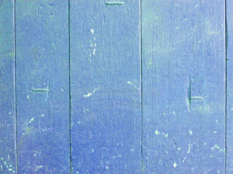 Drewnianej deski tekstury błękitny tło Dekoracyjna ścienna farba Rocznik struktura pokaz pusty Naturalna drewnianej deski tekstur zdjęcia royalty free