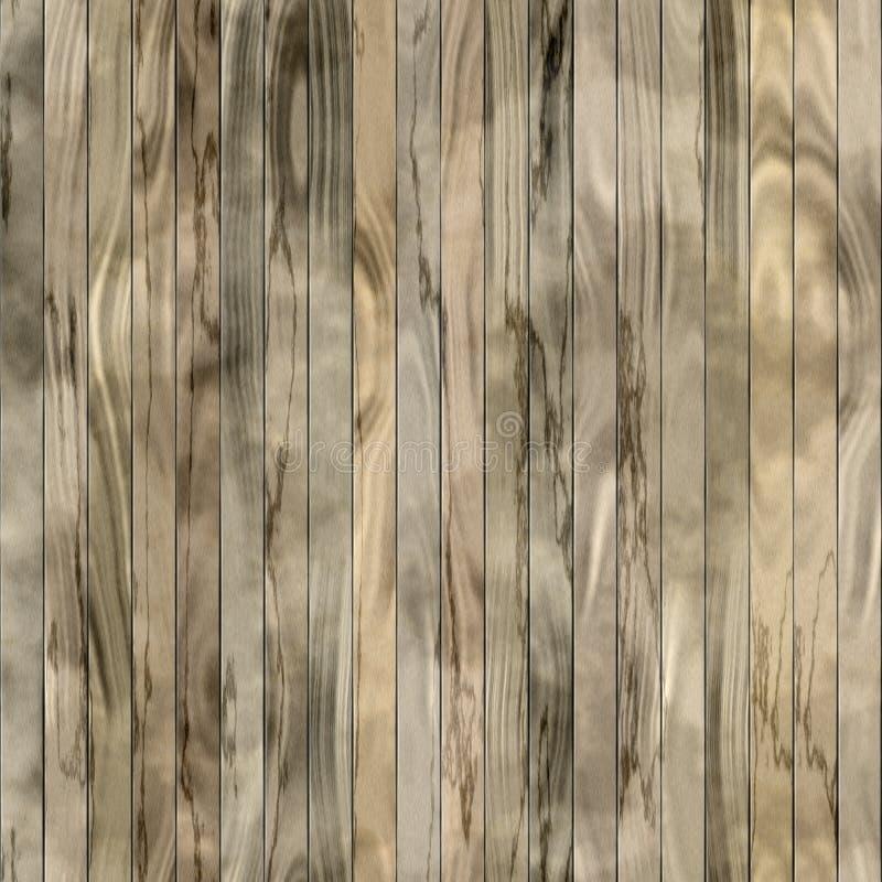 Drewnianej kolor deski tekstury bezszwowa podłoga lub stół obrazy stock