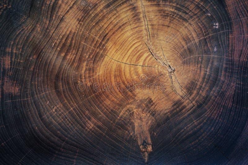 Drewnianej połówki rżnięty tło fotografia stock