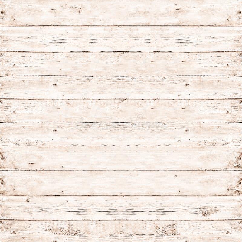 Drewnianej sosnowej deski biała tekstura dla tła obraz royalty free