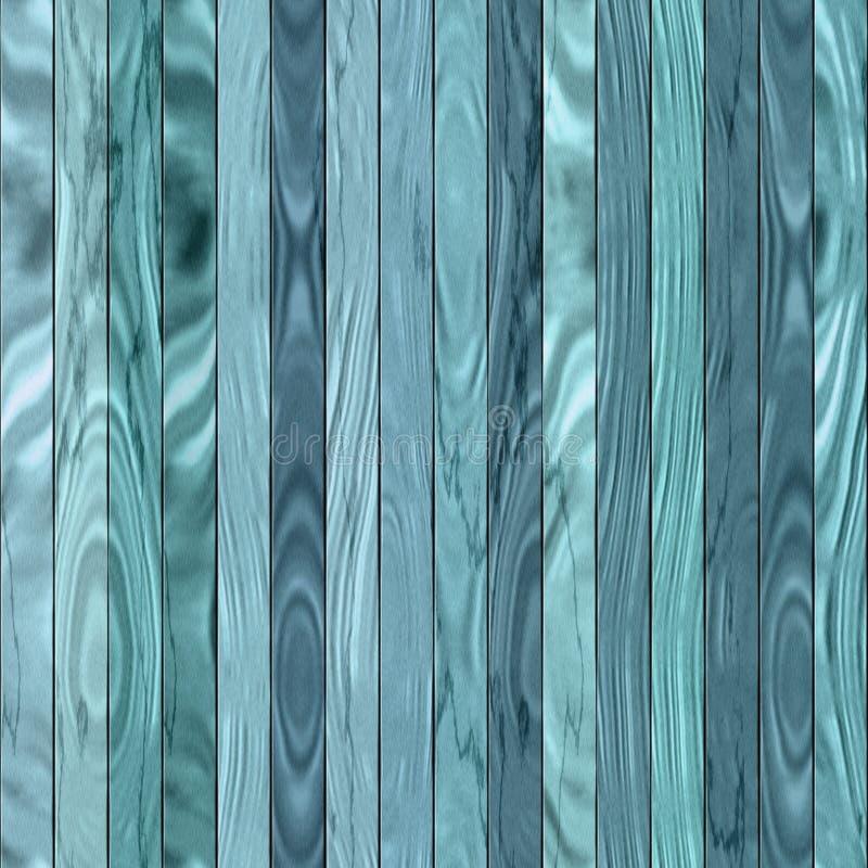 Drewnianej tekstury Bezszwowy błękit zdjęcia stock